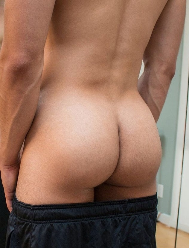 Nice male naked butt