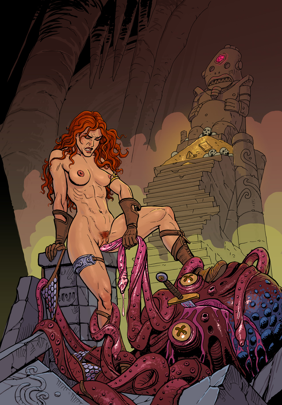 Red sonja hot pictures naked porns