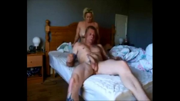 Mature couple made a sex tape real